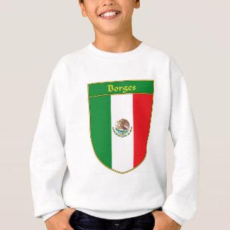 Den Borges Mexico flagga skyddar T Shirt