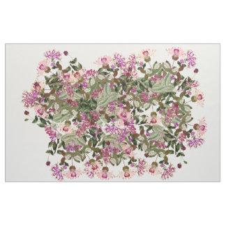 Den botaniska kaprifolen blommar blom- tyg