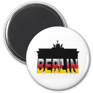 Den Brandenburg grinden i Berlin (Tysklandet) Magnet
