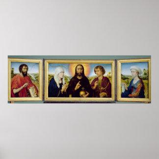 Den Braque familjtriptychen, St John Poster