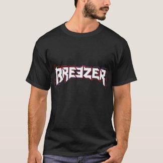 Den Breezer logotypen 3D plattar till T-tröjasvart T Shirt