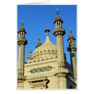 Den Brighton paviljongen specificerar Hälsningskort