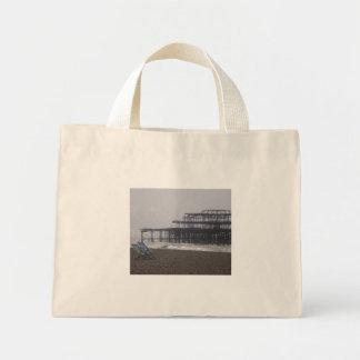Den Brighton stranden hänger lös Mini Tygkasse