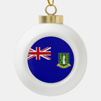Den British Virgin Islands flagga Julgransprydnader
