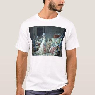 Den broderade cupiden t shirts