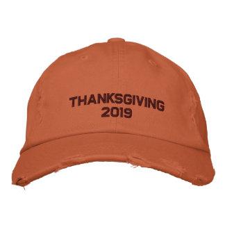 Den broderade thanksgivingen - ändra till hatt