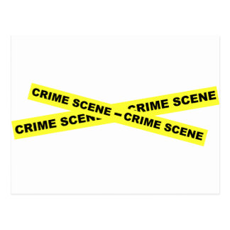 Den brotts- platsen tejpar vykort