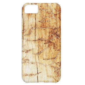 den bruna konstbrännskadan röker abstrakt antik iPhone 5C fodral