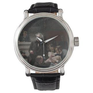 Den brutto- kliniken av Thomas Eakins Armbandsur