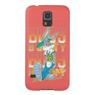 Den BUGS BUNNY ™coolan skolar dräkten Galaxy S5 Fodral