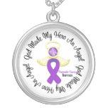 Den bukspottkörtel- cancerguden gjorde min hjälte  skräddarsydda halsband