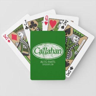 Den Callahan automatiskn särar Bicycle® som leker  Spelkort