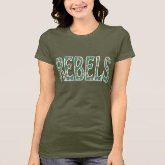 Den Campbell-Tintah högstadiet tredskas Campbell T Shirts