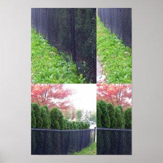 Den Candian vildträdgården parkerar deco för Poster