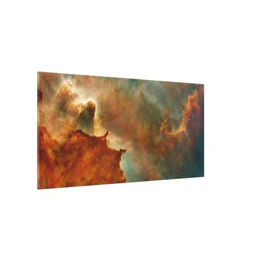 Den Carina nebulaen specificerar Canvastryck