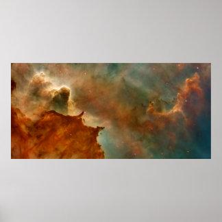 Den Carina nebulaen specificerar Poster