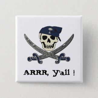 Den Carolina piraten knäppas Standard Kanpp Fyrkantig 5.1 Cm
