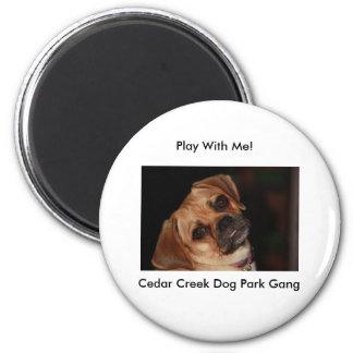 Den Cedar Creek hunden parkerar djura magneter