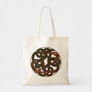 Den CelticViking ormen skyddar irländsk konstdesig Kassar
