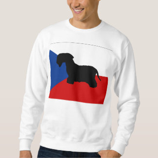 den cesky terriersilotjeck-republiken sjunker långärmad tröja