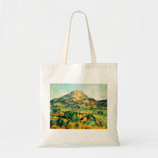 Den Cezanne Mont Sainte-Victoire totot hänger lös Tygkasse