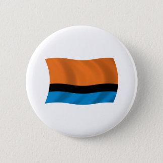 Den Chagossians flagga knäppas Standard Knapp Rund 5.7 Cm