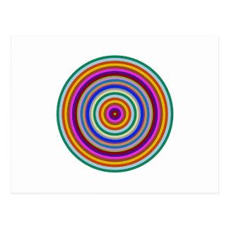 Den Chakra meditationen fokuserar verktyg Vykort