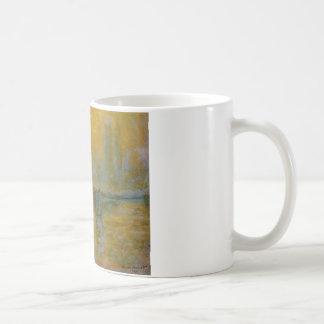 Den Charing kor överbryggar vid Claude Monet Kaffemugg