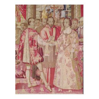 Den Charles V tapestryen Vykort