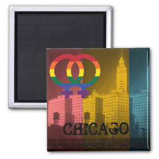 Den Chicago lesbisken intresserar färgrik pridebög Magnet