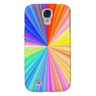Den ColorWheel gnistran - tyck om delaa glädje för Galaxy S4 Fodral