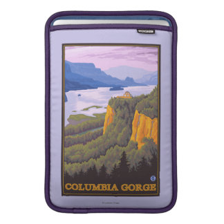 Den Columbia River klyftaplatsen med kronan pekar Sleeve För MacBook Air