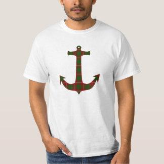 Den Crawford Tartanplädet ankrar T-shirt