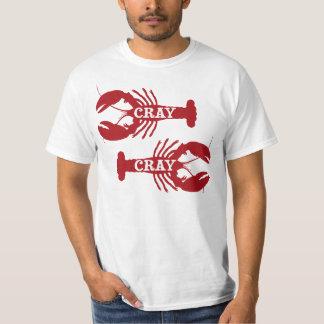Den Cray Cray kräftaskaldjur Tshirts