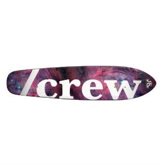 Den /Crew skridskon till utrymme stiger ombord Mini Skateboard Bräda 18,7 Cm