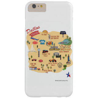 Den Dallas Texas iphone case Barely There iPhone 6 Plus Skal