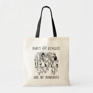 Den Darcy & Bingley HomeboysJane Austen totot Tygkasse