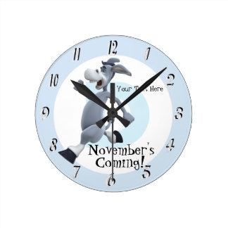 Den demokratiska versionen av November den Rund Klocka