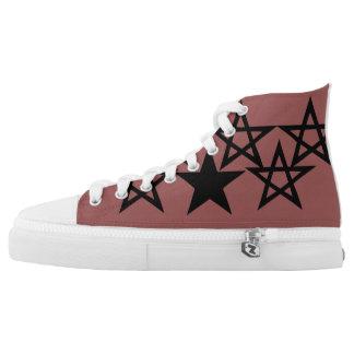 den designade stjärnan skor