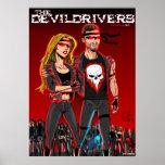 Den Devildrivers bikerligan Print