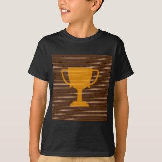 Den diy mallen för den vinnareGodl TROFÉN Tee Shirt