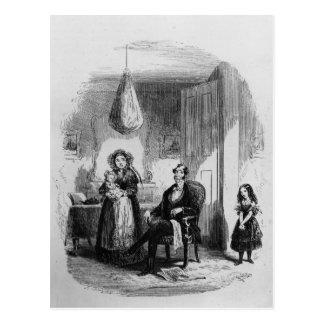 Den Dombey familjen Vykort