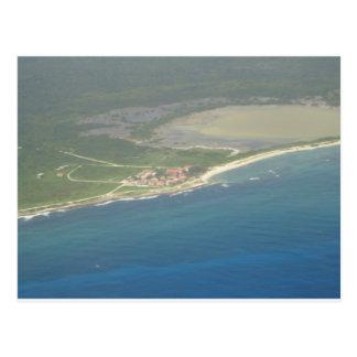 Den Dominikanska republikenHispanola antennen Vykort