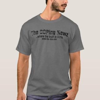 Den dopa Newzen - manar T-tröja (mörka grå färg) T-shirt