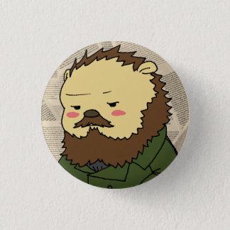 Den Dostoevsky cameoen knäppas Mini Knapp Rund 3.2 Cm