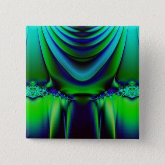 Den dramatiska fractalen knäppas standard kanpp fyrkantig 5.1 cm