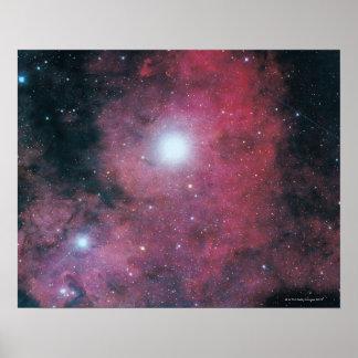 Den Dumbell nebulaen Affisch