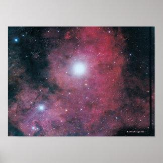 Den Dumbell nebulaen Affischer