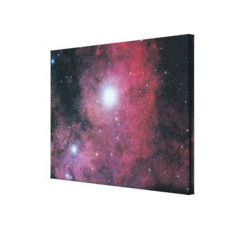 Den Dumbell nebulaen Canvastryck