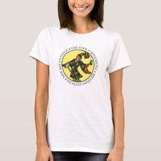 Den dumma damT-tröja med text T-shirts